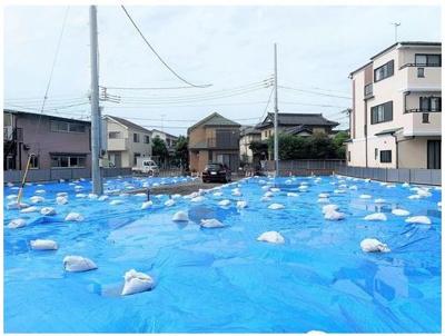 【外観】藤沢市片瀬4丁目 売地 No.2