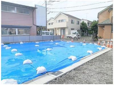 【外観】藤沢市片瀬4丁目 売地 No.3