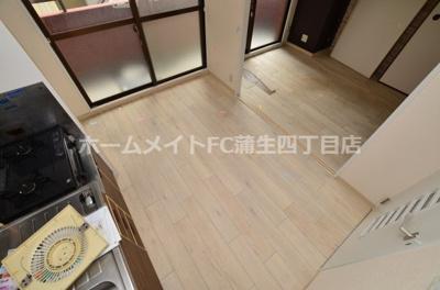 【居間・リビング】千林ロイヤルハイツ