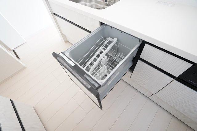 食洗機がついて家事の時短になりますね