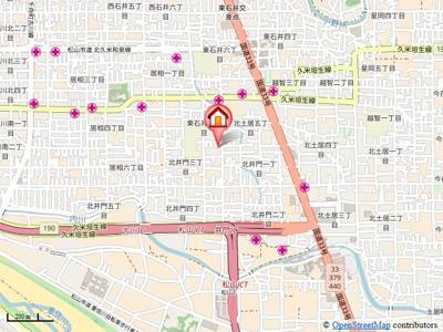 【地図】ハウス神岡