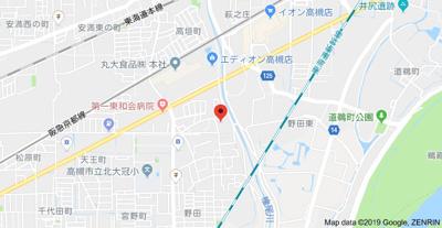 【地図】ファミールハイムA (株)Roots