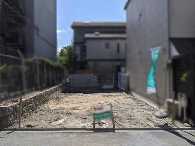 【外観】田中樋ノ口町 売土地【御蔭通】建築条件なし
