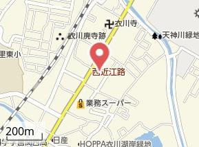 【地図】コモドルオーゴ