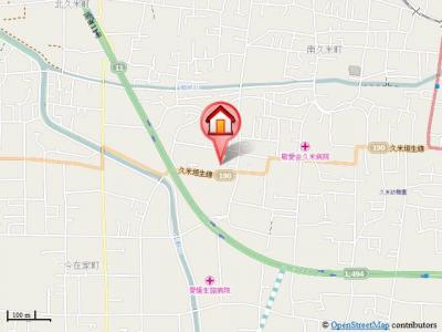 【地図】フローラルコート・