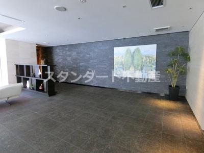 【ロビー】パークアクシス梅田