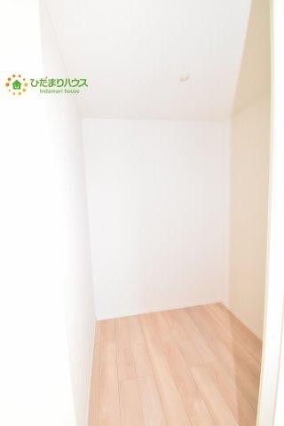 【収納】上尾市瓦葺 第14 新築一戸建て クレイドルガーデン02