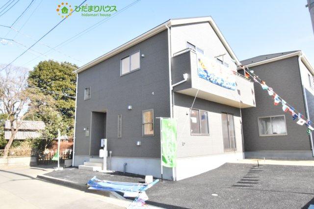 【外観】上尾市瓦葺 第14 新築一戸建て クレイドルガーデン02