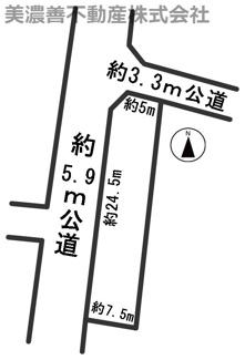 【外観】54376  羽島市正木町曲利土地