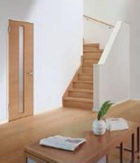 施工例 リビング階段