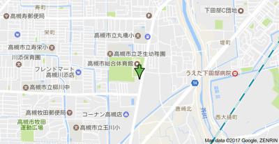【地図】メイゾン南高槻 (株)Roots