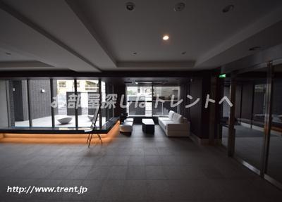 【ロビー】ザパークハウス文京江戸川橋