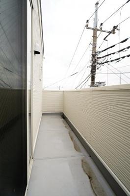 【バルコニー】小学校が近い新築戸建て さいたま市第8南区太田窪