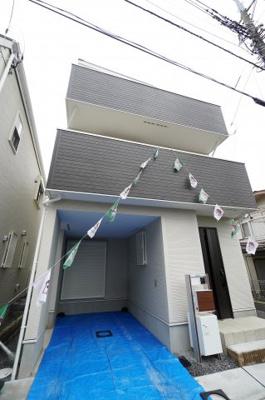 【外観】小学校が近い新築戸建て さいたま市第8南区太田窪