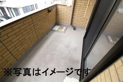【バルコニー】長田区西尻池町新築D-room