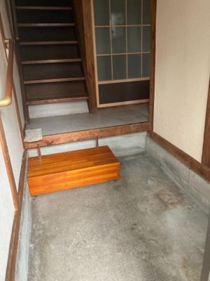 【玄関】針中野4貸家