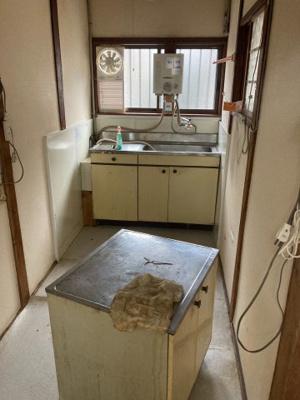 【キッチン】針中野4貸家