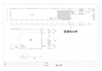 【区画図】高須貸店舗