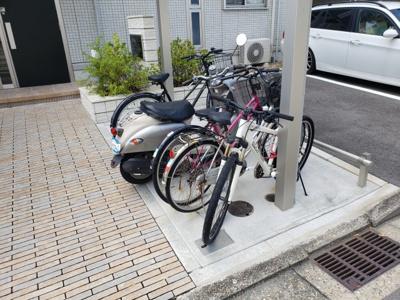 駐輪場☆神戸市垂水区 セジュール垂水East☆