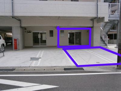 【玄関】ドリームハウスしののめ1階貸店舗