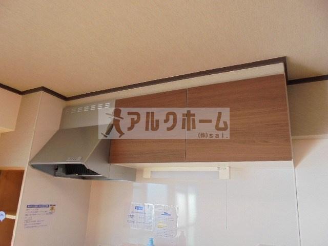 第2コーポ平野(柏原市平野・法善寺駅) キッチン
