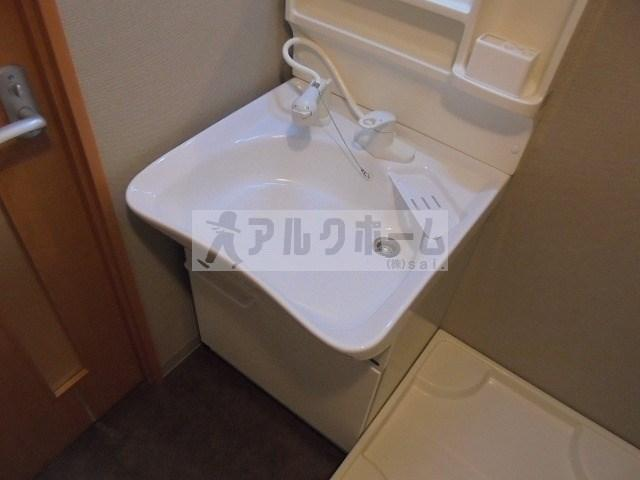 第2コーポ平野(柏原市平野・法善寺駅) 洗面台