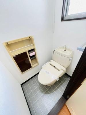 【トイレ】高田杜ハイツA