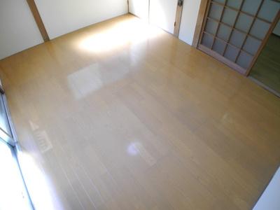 【居間・リビング】カリーナ立岩二番館