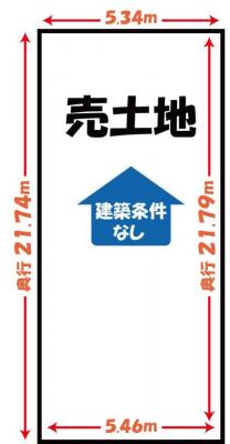 【区画図】下鴨東岸本町 新築一戸建て 自由設計