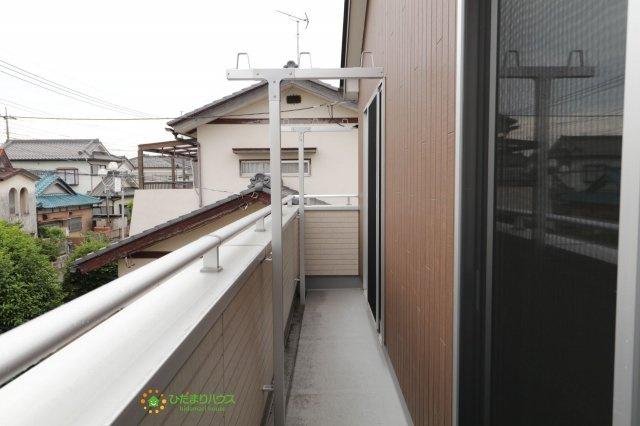 【バルコニー】加須市元町 中古一戸建て