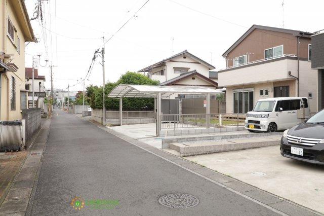 【前面道路含む現地写真】加須市元町 中古一戸建て