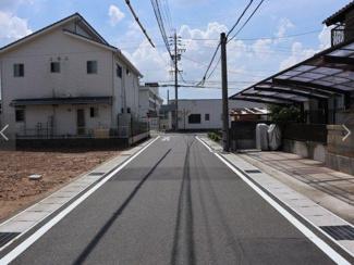 岐阜市北山 売地♪前面道路含む現地写真です