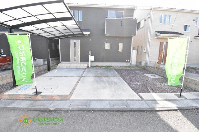 【駐車場】鴻巣市北新宿 中古一戸建て