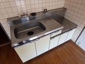 【キッチン】ハイツ京霧ヶ丘