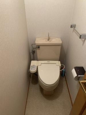 【トイレ】奈良市松陽台 中古戸建