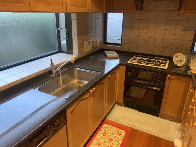 【キッチン】奈良市松陽台 中古戸建