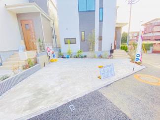 四街道市旭ケ丘 新築一戸建て 四街道 並列2台駐車可能です!