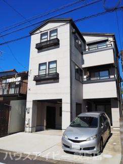 岐阜市学園町・中古住宅。3階建、早田小学校約260m!駐車2台OK!
