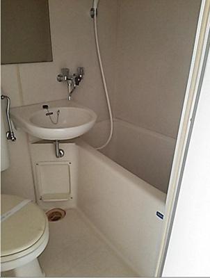 【浴室】プラムハイツDOI