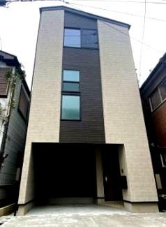 外観です 新築戸建 3LDK+カースペース LDKは16帖 全居室収納スペース JR南武線「矢向」駅バス13分 地盤20年建物10年保証