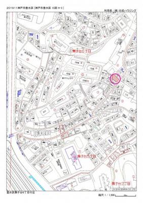 【地図】舞子台6丁目新築分譲住宅
