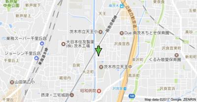 【地図】IRIS(イリス)南茨木