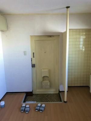 【玄関】コーポ白鷺