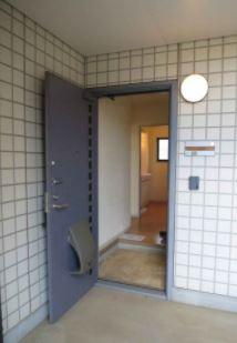 【玄関】パークハイツB棟
