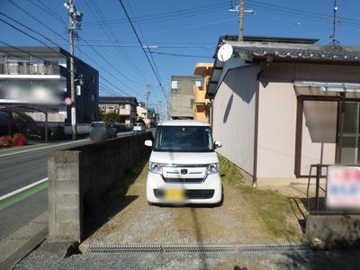 【駐車場】池田貸家