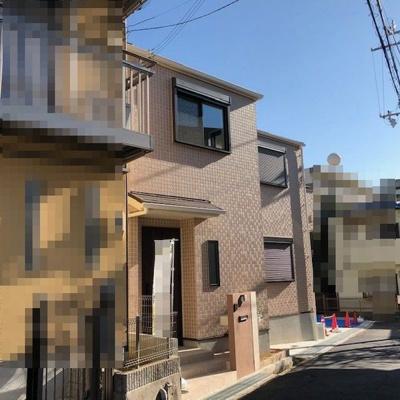 【前面道路含む現地写真】《》神戸市垂水区千代ヶ丘1丁目 新築戸建