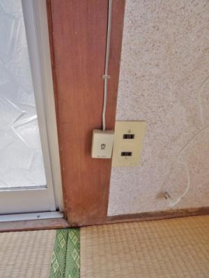 電話線 ※掲載画像は同タイプの室内画像のためイメージとしてご参照ください。