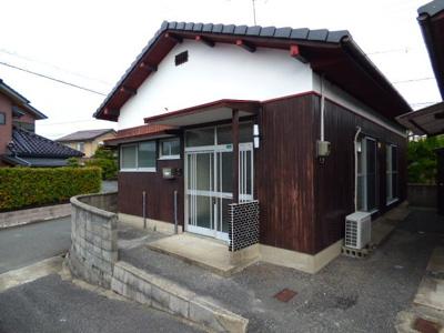平屋の戸建物件。日本家屋がお好きな方にもおすすめです。