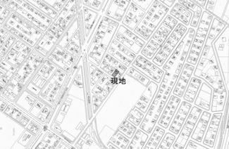 【地図】清月町 中古戸建