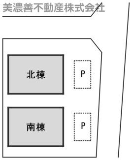 【区画図】55755 岐阜市若福町中古戸建て